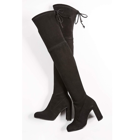 d14be61531e Stuart Weitzman Hiline suede over the knee boots